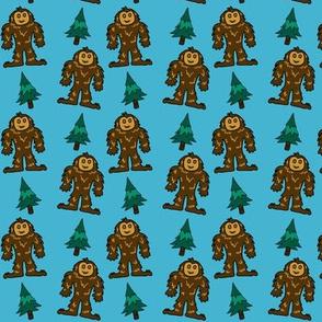 Baby Bigfoot - Brown & Blue
