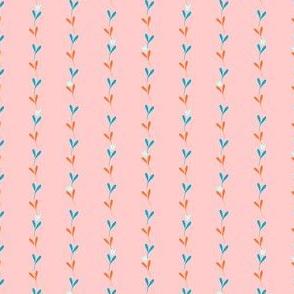 Tulip Garland - Peach (smaller scale)