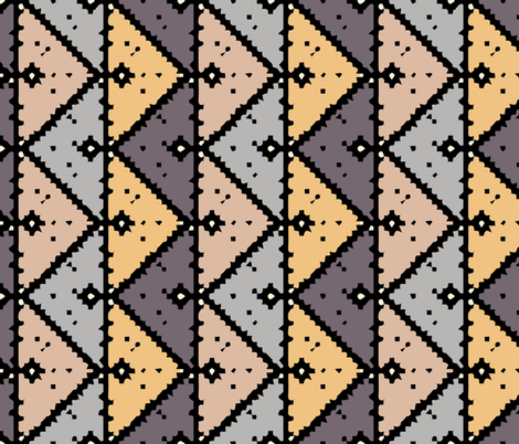 kilim color fabric by gomboc on Spoonflower - custom fabric