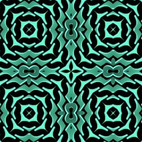 Metallic Tribal Pattern 02