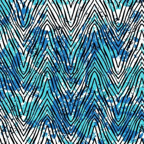Blue zebra stripes 16_0483