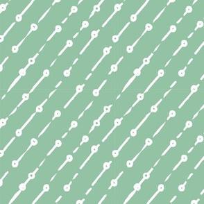 Diagonal Bubble Strings