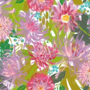 Vintage Abstract Floral