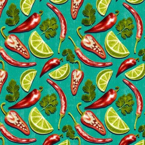 Flavours of Mexico - turquoise