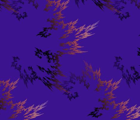 CrystalFire2 fabric by abtoth on Spoonflower - custom fabric