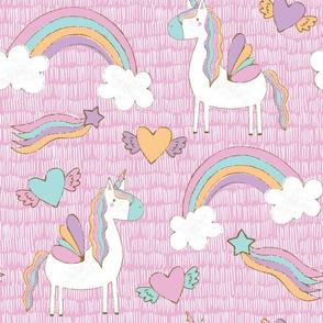 Unicorns in Pink