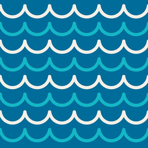 nautical sea wave background
