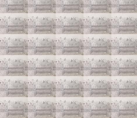 Bench fabric by mrstelli on Spoonflower - custom fabric