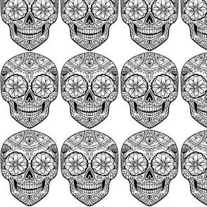 Day of the Dead Skull Sugar
