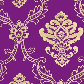 French Parlor Royal Purple
