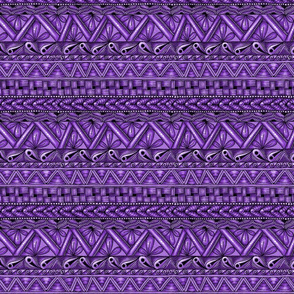 Zen stripes horizontal purple