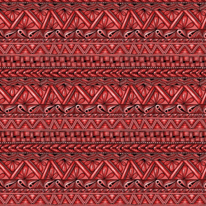 Zen stripes horizontal red