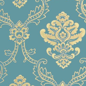 French Parlor Empire Blue