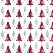 Christmas Trees Rustic