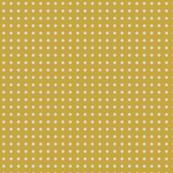 yellow orchre Polka Dot