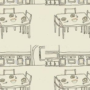 table & room