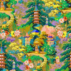 Vintage pagoda