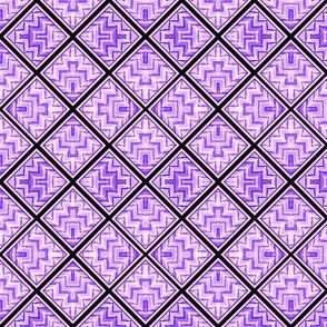 Geo Slide / Purple  2b