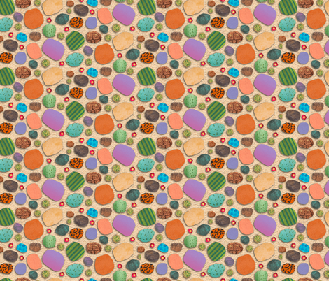 Desert Jewels fabric by denise_ortakales on Spoonflower - custom fabric