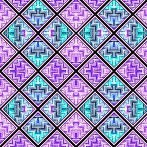 Geo Slide / Purple multi  2b