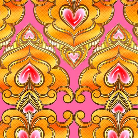 Sweetheart Coordinate 2 fabric by jadegordon on Spoonflower - custom fabric