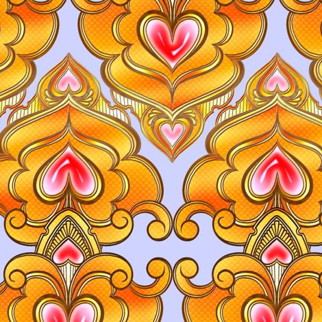 Sweetheart Coordinate 1 fabric by jadegordon on Spoonflower - custom fabric