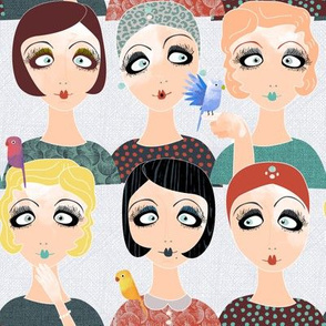 1920s challenge girls