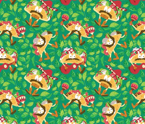 Taco Please!! fabric by femvisionary on Spoonflower - custom fabric