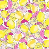 just lemons - pink