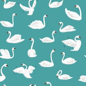 Swans - Blue