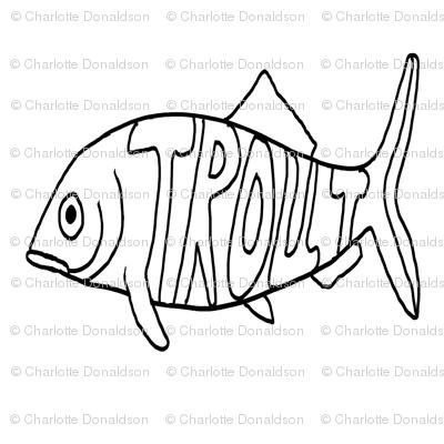 "FI_7526__L ""Big Trout"" black and white"