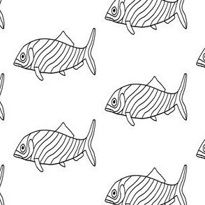"FI_7546__L ""Striped Worried Fish"""