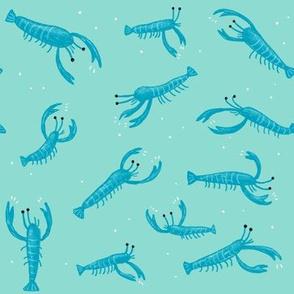 Lobsters - Blue