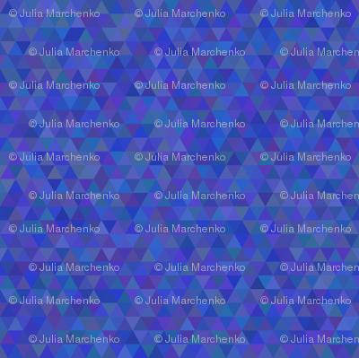 Seamless triangle pattern. Dark blue