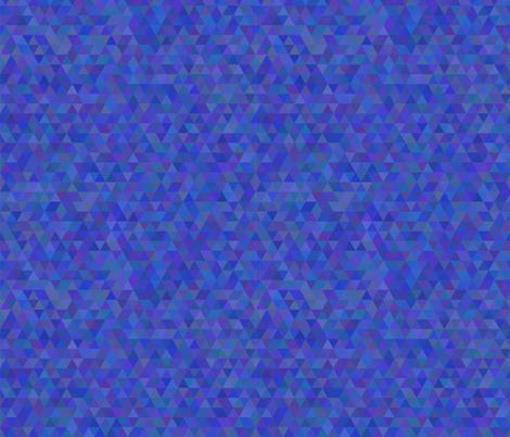 Seamless triangle pattern. Dark blue fabric by julimur on Spoonflower - custom fabric