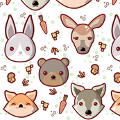 Kawaii Woodland Creatures