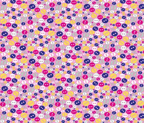 buttons roro fabric by raya_aldhaheri on Spoonflower - custom fabric