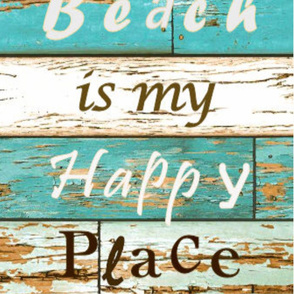 Beach Happy Place_ 60x30