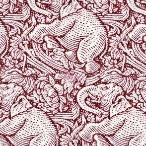 Elephants Crimson