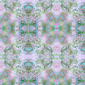Mock Floral Royal Crown Pattern