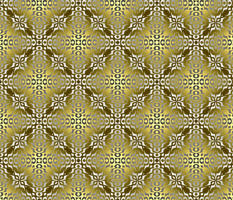 Metal on Metal 18 fabric by anneostroff on Spoonflower - custom fabric
