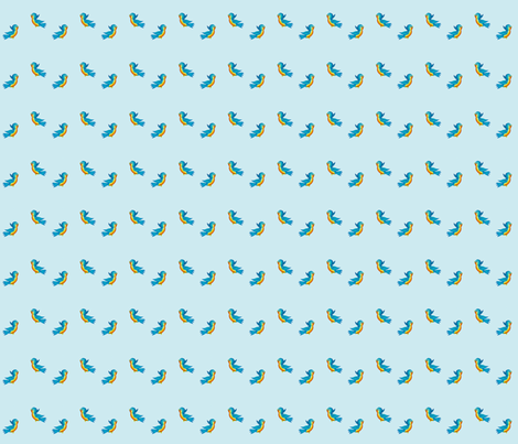 bluebirdditsy fabric by denisebeverly on Spoonflower - custom fabric