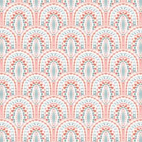 watercolor scallops