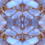 Blue Quartz Gold
