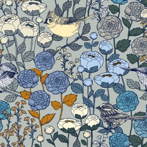 Winter Garden {Frost} - medium scale