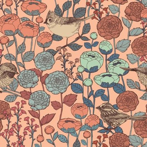 Winter Garden {Petal} - medium scale