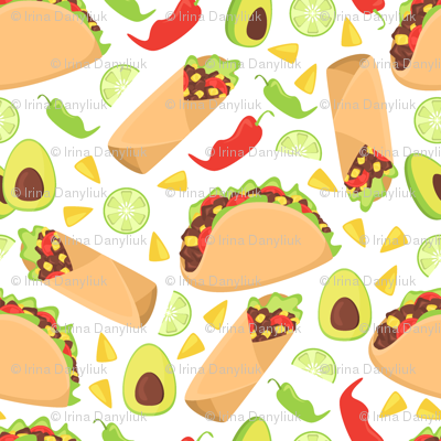 Mexican tacos food