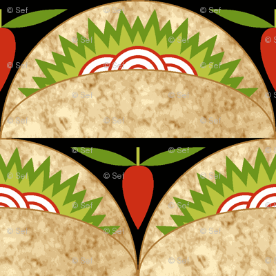 07839432 : taco pepper scale