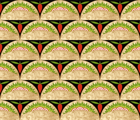 07839432 : taco pepper scale fabric by sef on Spoonflower - custom fabric
