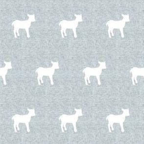 Linen lamb grey